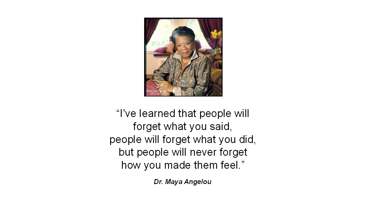 Maya Angelou